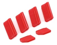 OXY Heli Oxy 5 Landing Gear & Vertical Fin Protection Set (Red)
