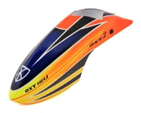 OXY Heli Fiber Glass Canopy Scheme #1 (Orange/Yellow/Blue)