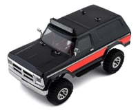 Panda Hobby Tetra X2 1/18 RTR Scale Mini Crawler w/2.4GHz Radio (Black/Red)