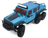 Panda Hobby Tetra X1 6x6 1/18 RTR Scale Mini Crawler w/2.4GHz Radio (Blue)