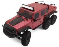 Panda Hobby Tetra X1 6x6 1/18 RTR Scale Mini Crawler w/2.4GHz Radio (Red)