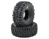 "Pit Bull Tires Rock Beast II 2.2"" Scale Rock Crawler Tires (2) (No Foam) (Alien) 