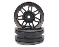 Pit Bull Tires Raceline #931 Injector 1.9 Beadlock Wheel (Black/Gun Metal) (2)