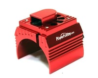 Power Hobby Aluminum Cooling Fan 1/8: Red