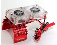Power Hobby Aluminum Cooling Fan Slash 4WD Red