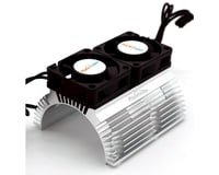 Power Hobby Powerhobby Heat Sink w Twin Turbo High Speed Cooling Fans