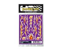 PineCar Blazin'Flames Dry Transfer