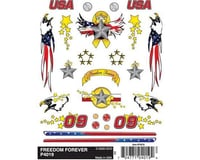 PineCar Dry Transfer Decals, Freedom Forever