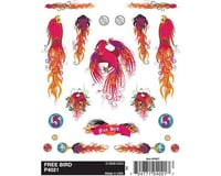 PineCar Dry Transfer Decals, Free Bird | relatedproducts