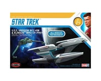 Round 2 Polar Lights 1 1000 Star Trek USS Grissom Klingon BoP (2pk)