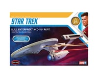 Round 2 Polar Lights 1/1000 Star Trek USS Enterprise Refit Wrath Khan