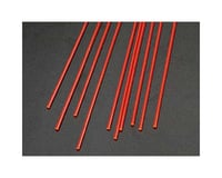"Plastruct FARR-2H Fluor Red Rod,1/16"" (10) 