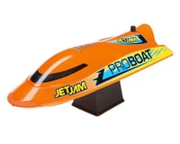 SCRATCH & DENT: Pro Boat Jet Jam 12 Inch Pool Racer RTR Electric Boat (Orange)