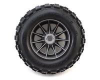 """Image 2 for Pro-Line Badlands 3.8"""" Tire w/F-11 17mm 1/2"""" Offset MT Wheel (2) (Grey)"""