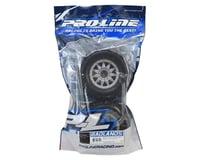 """Image 3 for Pro-Line Badlands 3.8"""" Tire w/F-11 17mm 1/2"""" Offset MT Wheel (2) (Grey)"""