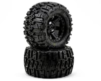 "Pro-Line Trencher 2.8"" Tires w/Desperado Electric Rear Wheels (2) (Black) 