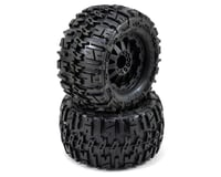 "Pro-Line Trencher 2.8"" Tires w/F-11 Electric Rear Wheels (2) (Black) (M2) 