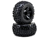 "Pro-Line Badlands 3.8"" Tire 1/2"" Offset Wheel (2) (Black)"