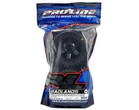 """Image 2 for Pro-Line Badlands 3.8"""" Tire 1/2"""" Offset Wheel (2) (Black)"""