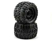 "Pro-Line Trencher X 3.8"" Tire w/F-11 17mm 1/2"" Offset MT Wheel (2) (Black) (Traxxas E-Revo)"