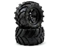 Pro-Line Masher 2.8 w/Desperado Electric Rear Wheels (2) (Black)