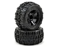 Pro-Line Pre-Mounted Trencher Desperado Wheels (2) (1/16 E-Revo) (Black) | alsopurchased