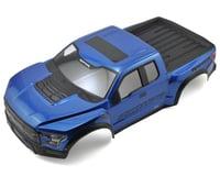Pro-Line 2017 F-150 Raptor Pre-Painted & Pre-Cut Scale Body (Blue) (Team Associated SC10.2)