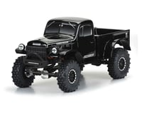 "Pro-Line 1946 Dodge Power Wagon 12.3"" Tough-Color Rock Crawler Body (Black) (Axial SCX10)"