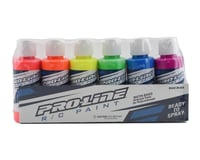Pro-Line RC Body Airbrush Paint Fluorescent Color Set (6)