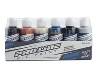 Pro-Line RC Body Airbrush Paint Pure Metal Set (6)