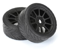 Pro-Line Avenger HP Belted Pre-Mounted 1/8 Buggy Tires (2) (Black) (Kyosho Inferno GT/GT2)