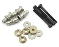 PSM Aluminum MBX7R EV2 Shock Standoff Set (Silver) (4) | relatedproducts