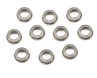 "Image 1 for ProTek RC 1/4x3/8x1/8"" Metal Shielded Flanged ""Speed"" Bearing (10)"