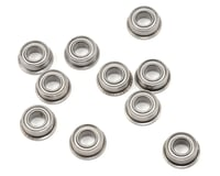 "ProTek RC 5x10x4mm Metal Shielded Flanged ""Speed"" Bearing (10)"