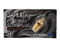 ProTek RC Gold P3 Samurai Turbo Glow Plug (Ultra Hot) (O.S. Engines .21 Speed V-Spec)
