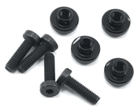 ProTek RC Aluminum Servo Mount Grommet (Black) (4) (Team Associated RC10 B64)