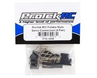 ProTek RC Futaba Style Servo Connectors (4 Pair)