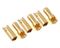 "ProTek RC 5.5mm ""Super Bullet"" Solid Gold Connectors (3 Male/3 Female) 