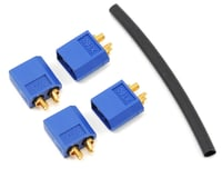 "ProTek RC 3.5mm ""TruCurrent"" XT60 Polarized Device Connectors (4 Male) 
