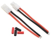 "ProTek RC 4"" Pigtail Connector Set w/Shrink Tube (1 Female & 1 Male Tamiya)"