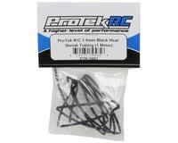Image 2 for ProTek RC 1.5mm Black Heat Shrink Tubing (1 Meter)