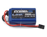 ProTek RC HV LiPo Hump Receiver Battery Pack (Kyosho Inferno MP9 TKI3/Tekno) (7.6V/2600mAh)