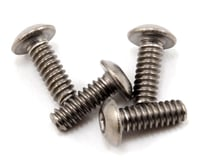 "ProTek RC 4-40 x 5/16"" Titanium Button Head Hex Screw (4)"