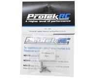 Image 2 for ProTek RC 3x8mm Titanium Cap Head Hex Screw (4)