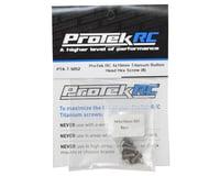 Image 2 for ProTek RC 4x10mm Titanium Button Head Hex Screw (8)