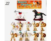 BMC Toys 1/32 Roman Warriors Figure Playset (10 W/Shields,