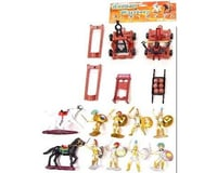 BMC Toys 1/32 Roman Warriors & Armor Figure Playset (8 W/2