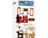 BMC Toys 1/32 Knights & Armor Figure Playset (6 W/Weapons,