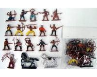 BMC Toys 1/32 Cowboys & Indians Figure Playset #1 (16 W/Wea