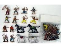 BMC Toys 1/32 Cowboys & Indians Figure Playset #2 (12 W/Wea